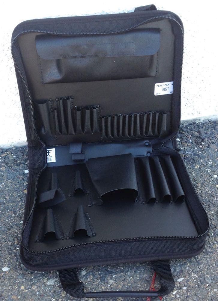 Platt 660ZT Black Zipper Tool Case Trouble Shooter