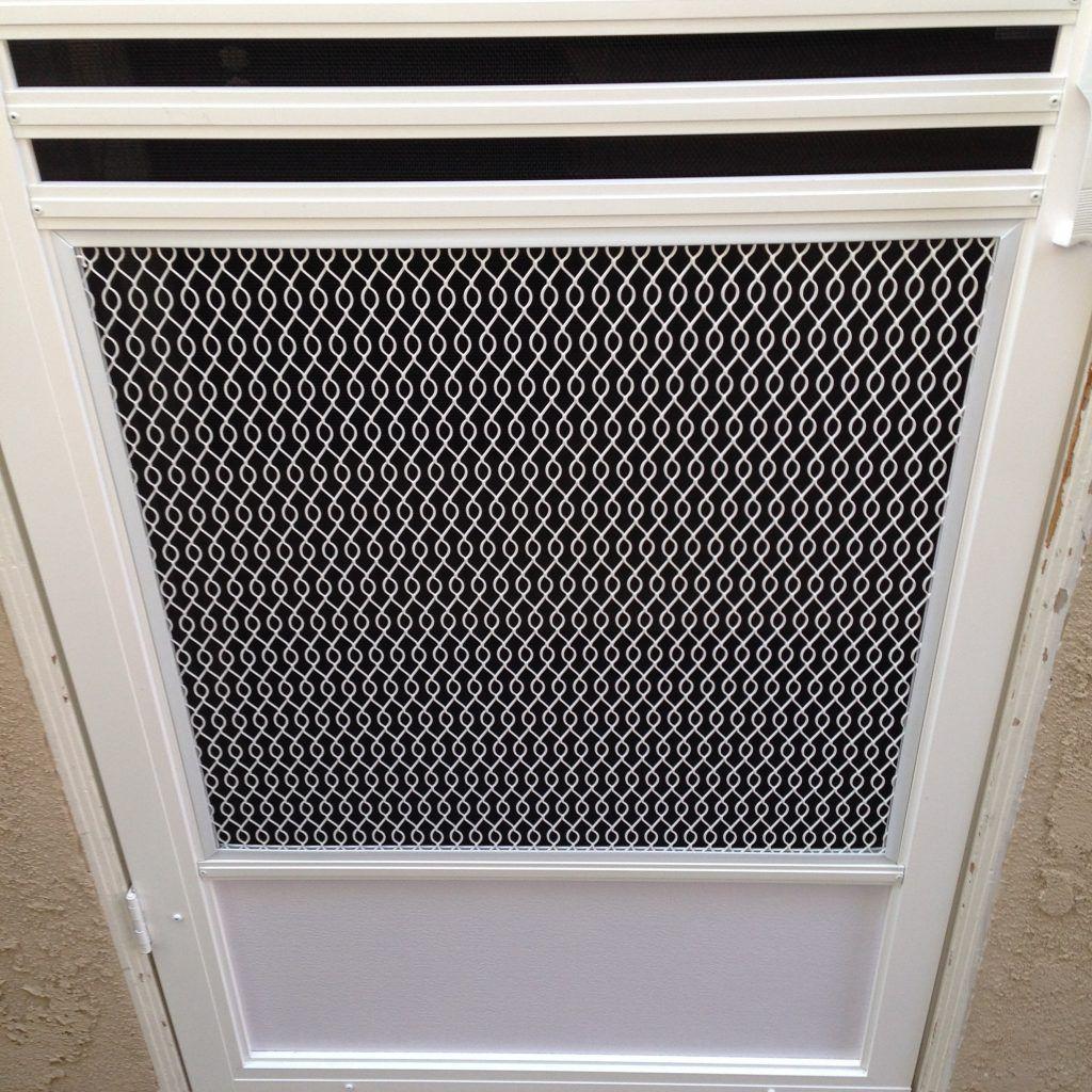 Adjustable screen door guard httpthefallguyediting adjustable screen door guard vtopaller Gallery