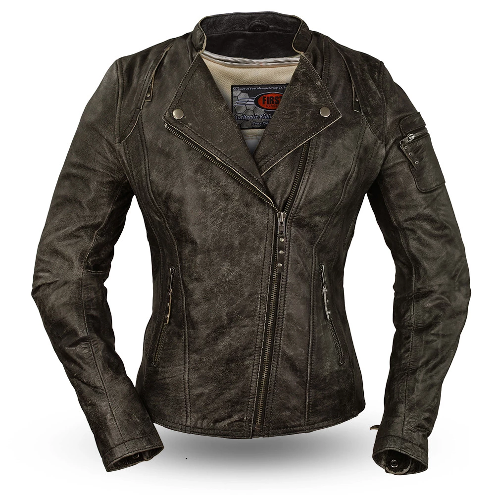 First Manufacturing Womens Jasmin Motorcycle Jacket
