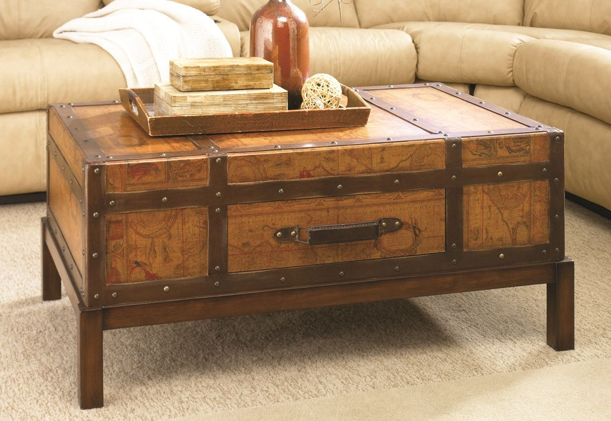 Treasure Chest Style Coffee Table httptherapybychancecom