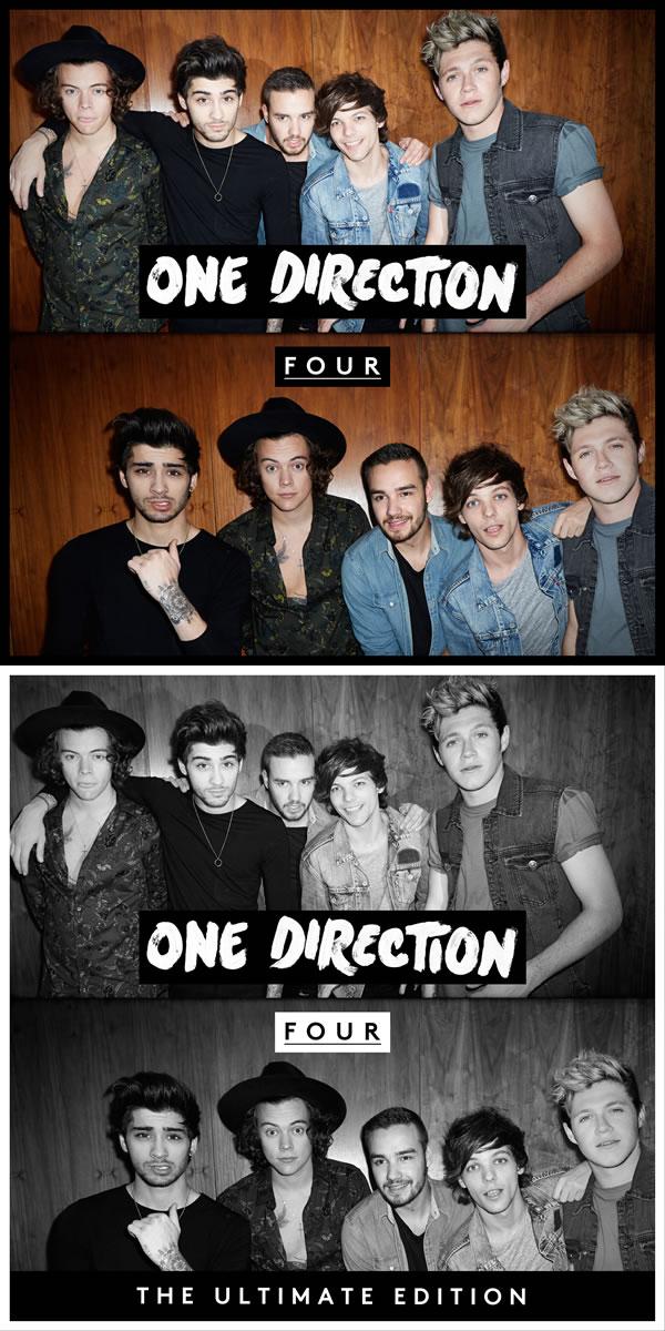 One Direction has announced their new album, Four!!! Go