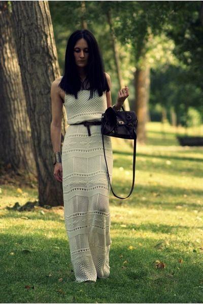 casual crochet dress