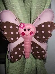 Resultado de imagem para borboletas em feltro