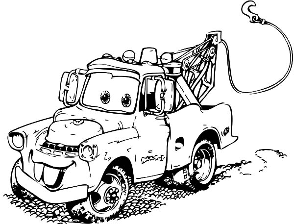 Pin On Mater Coloring Pages