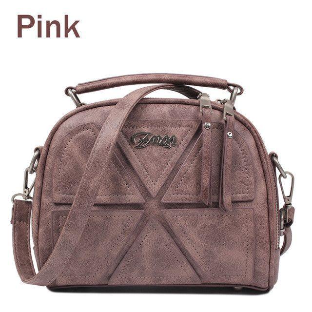 a1bb982ba692 ZMQN Women Messenger Bags Famous Brand 2017 Vintage Retro Women Crossbody  Bag Small PU Leather Handbags For Women Splicing A523