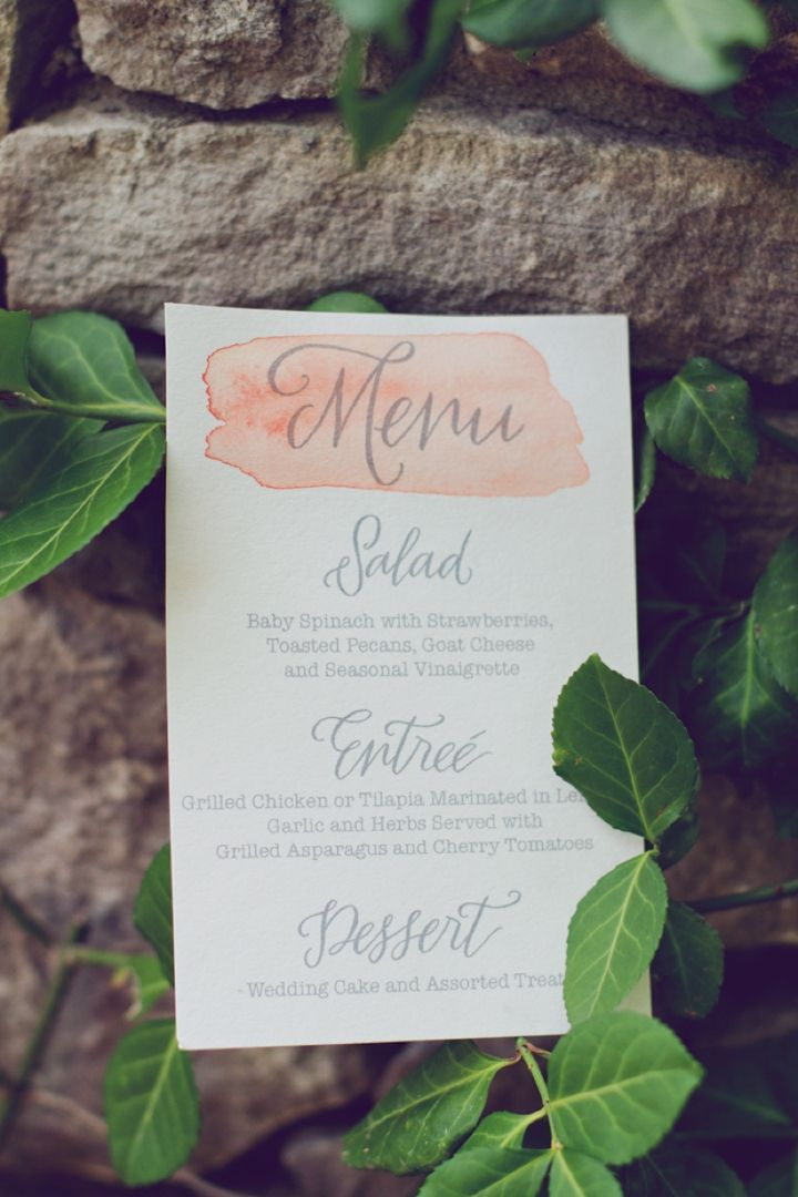 wedding reception invites%0A Entice Your Guests with These Lovely Wedding Menu Stationery Ideas