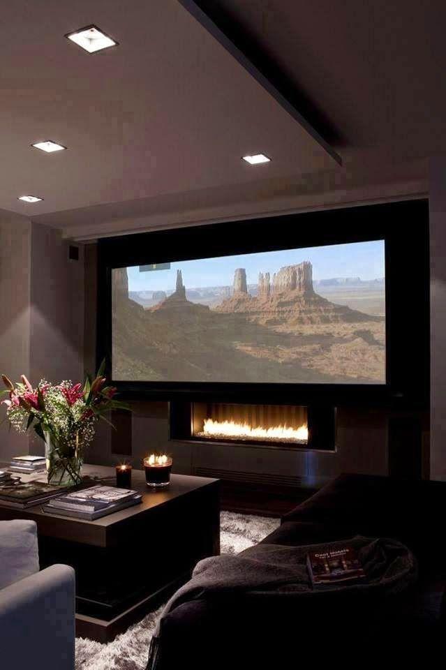 cinema em casa home theater como voc nunca viu future home rh ar pinterest com
