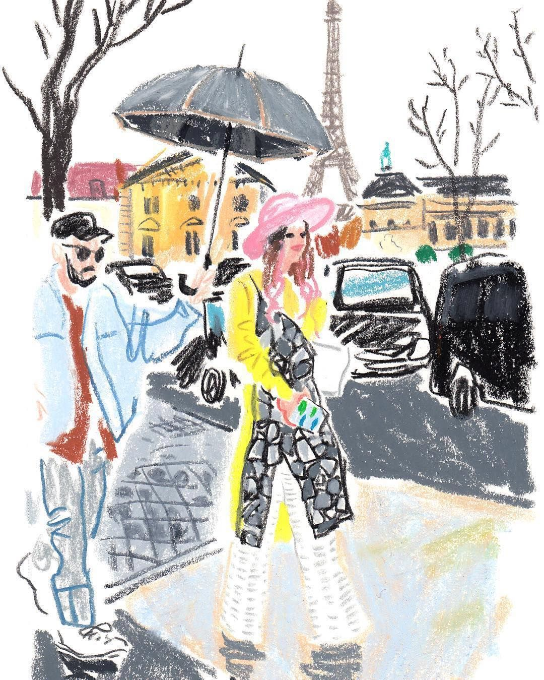좋아요 422개 댓글 4개 Instagram의 Damien Florebert Cuypers Damienfcuypers 님 Daily Pfw Snapsketch For Tmagazine Illustration Illustration Sketches Drawings