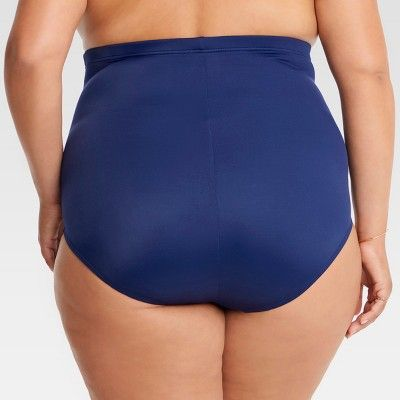 906f5b1ae6 Plus Size Dreamsuit by Miracle Brands Women s Plus Slimming Control Ultra  High Waist - Navy (