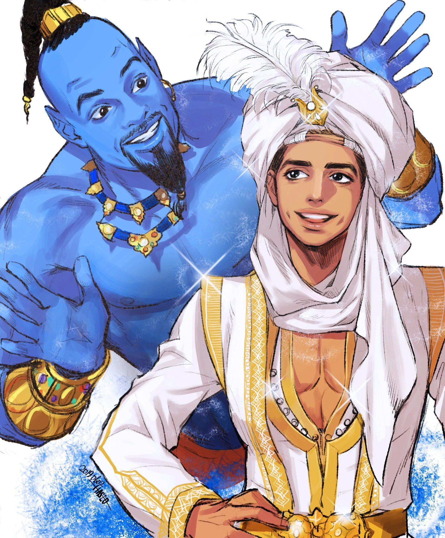 Aladdin Live Action Concept Art