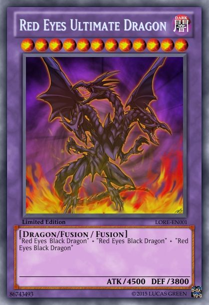 Red Eyes Ultimate Dragon | Yu-Gi-Oh Cards | Pinterest ...
