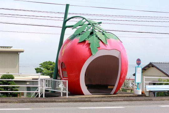 fruits bus stop nagasaki japan past and present pinterest rh pinterest es