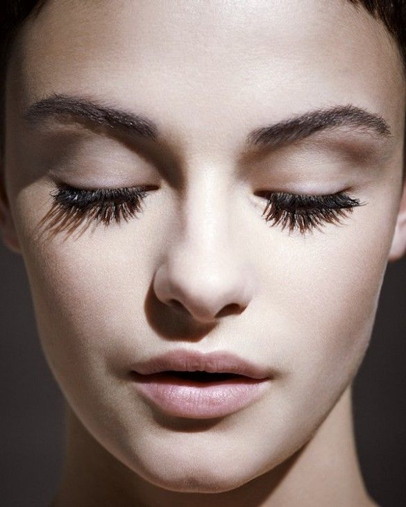bold brows & full lashes & matte pink lips #beauty #eyelashes #falselashes #makeup