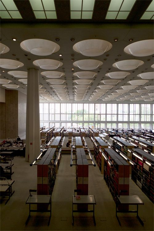 Berlin State Library By Oliver Lins Architecture Berlin Modernist