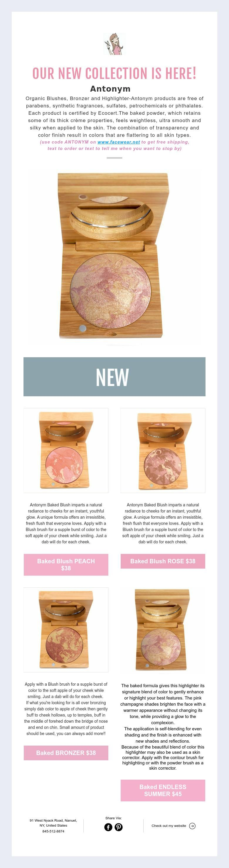 Our New Collection Is Here Antonym Organic Blushes Bronzer And Highlighter Antonym Products Ar Technique Makeup Brushes Organic Skin Care Healthy Makeup