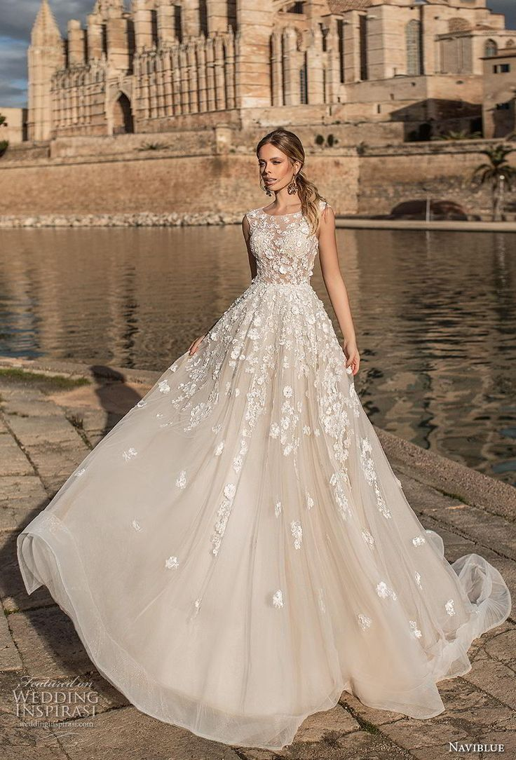 "Naviblue 2019 Wedding Dresses — ""Dolly"" Bridal Collection"
