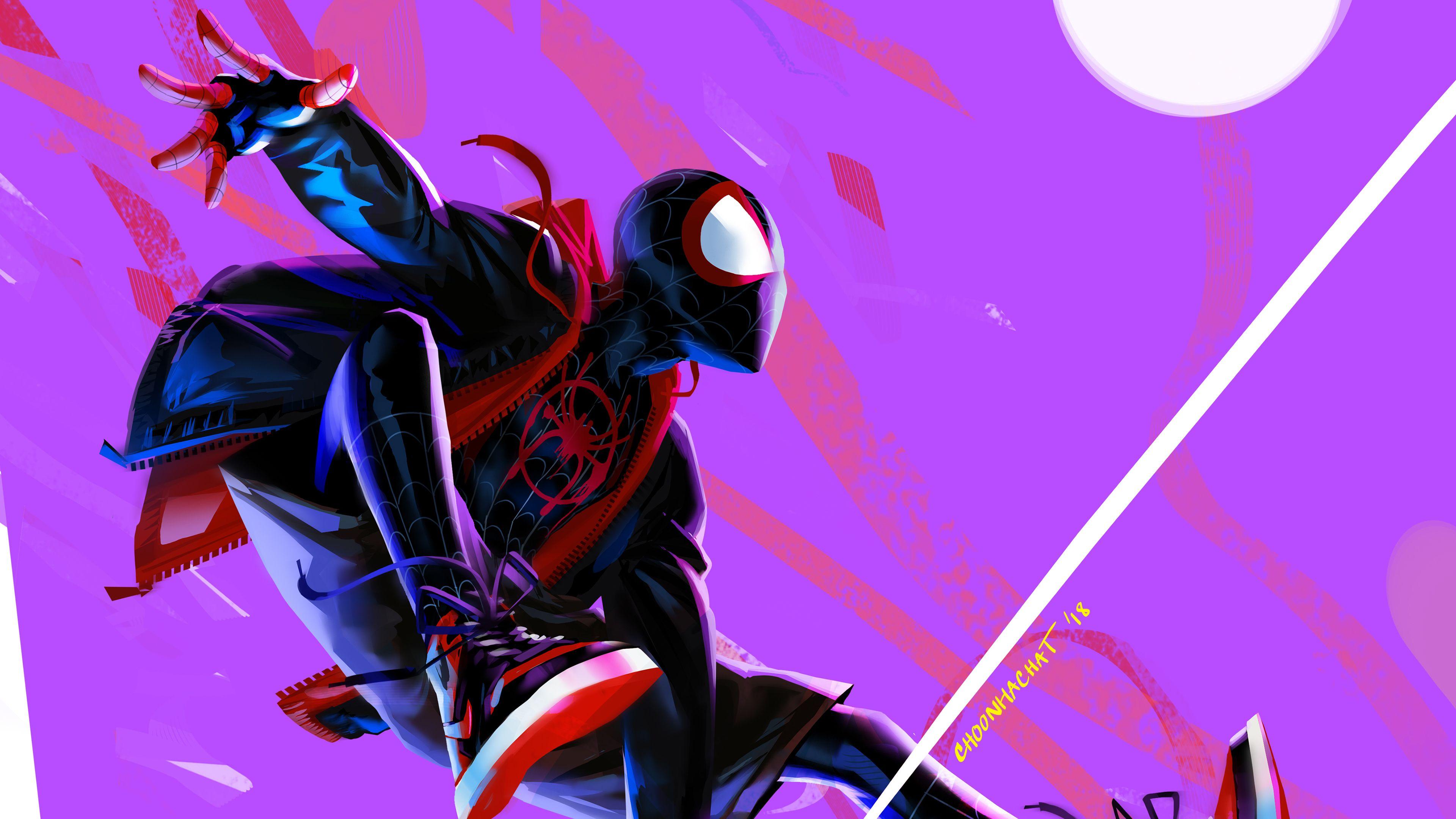 SpiderMan Into the SpiderVerse 4K Spider verse