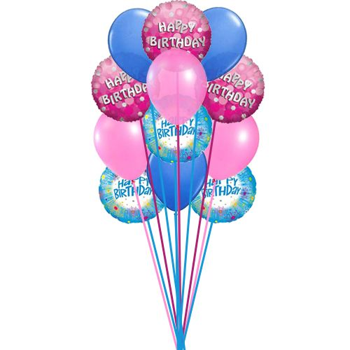 Bunch Of Lovely Happy Birthday Balloons Send This Beautiful On The Special Day Birth