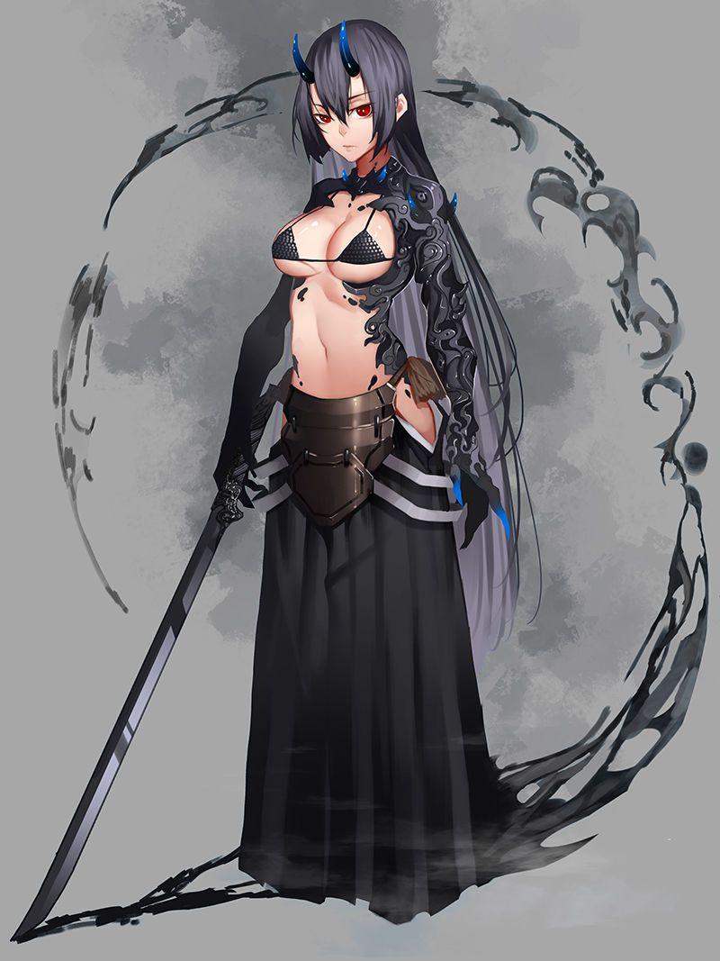 Female bondage illustrations