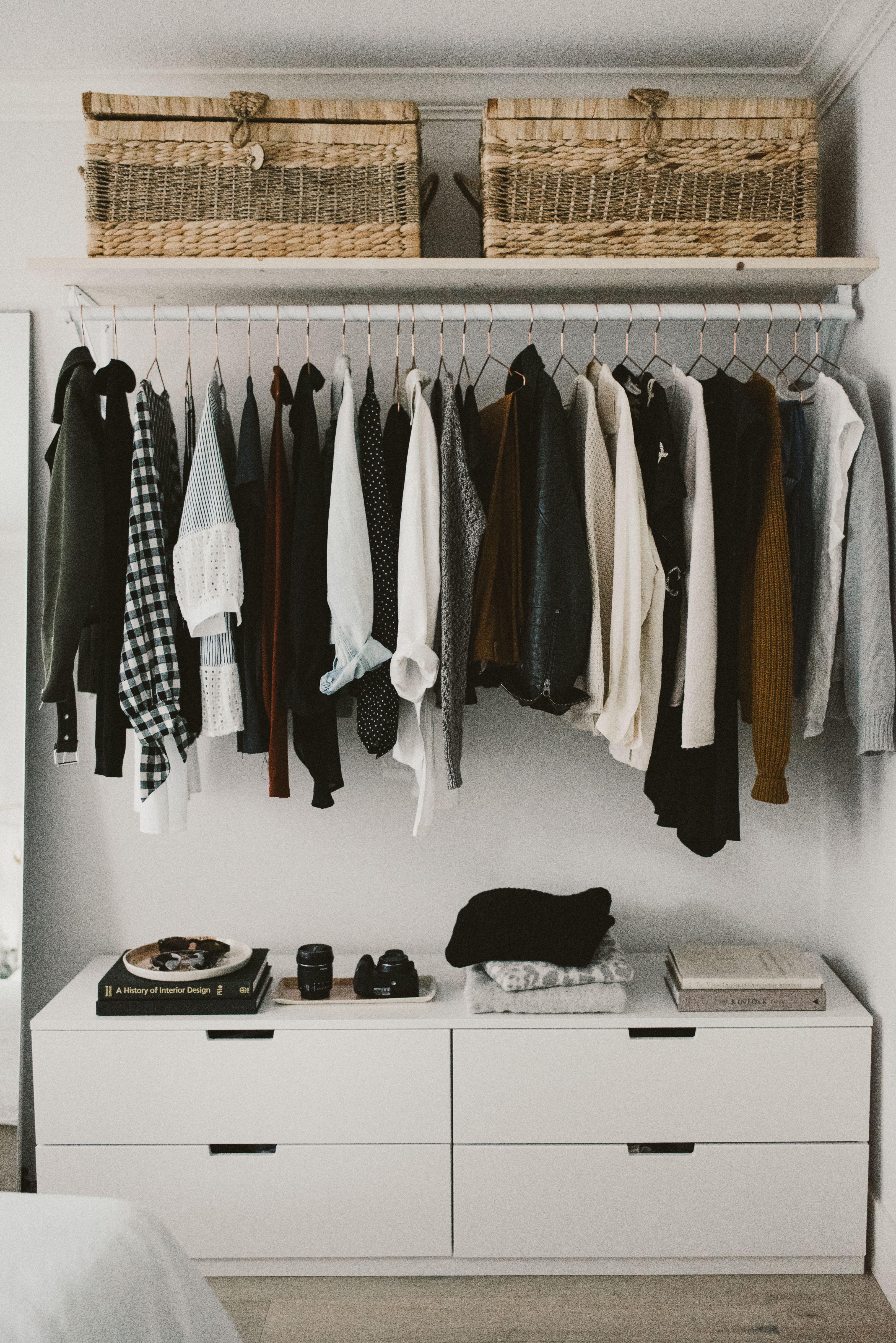 Diy Open Concept Closet Bedroom Organization Closet Closet Concepts Small Bedroom Decor