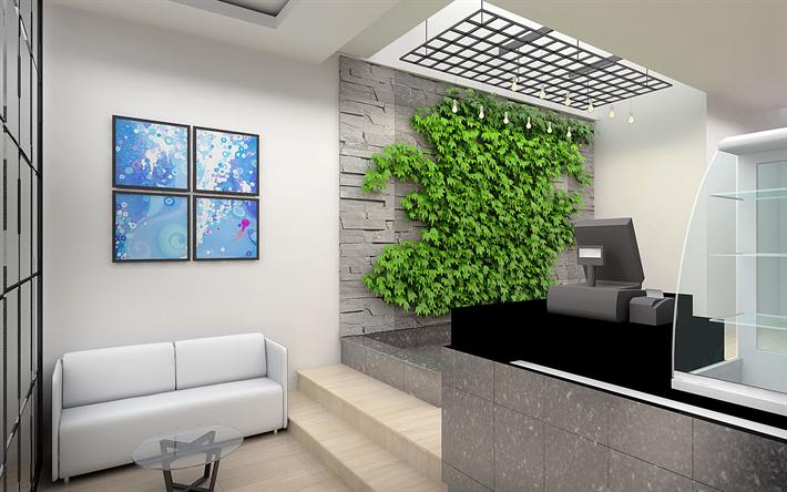 Download Wallpapers 4k Shop Light Design Modern Design
