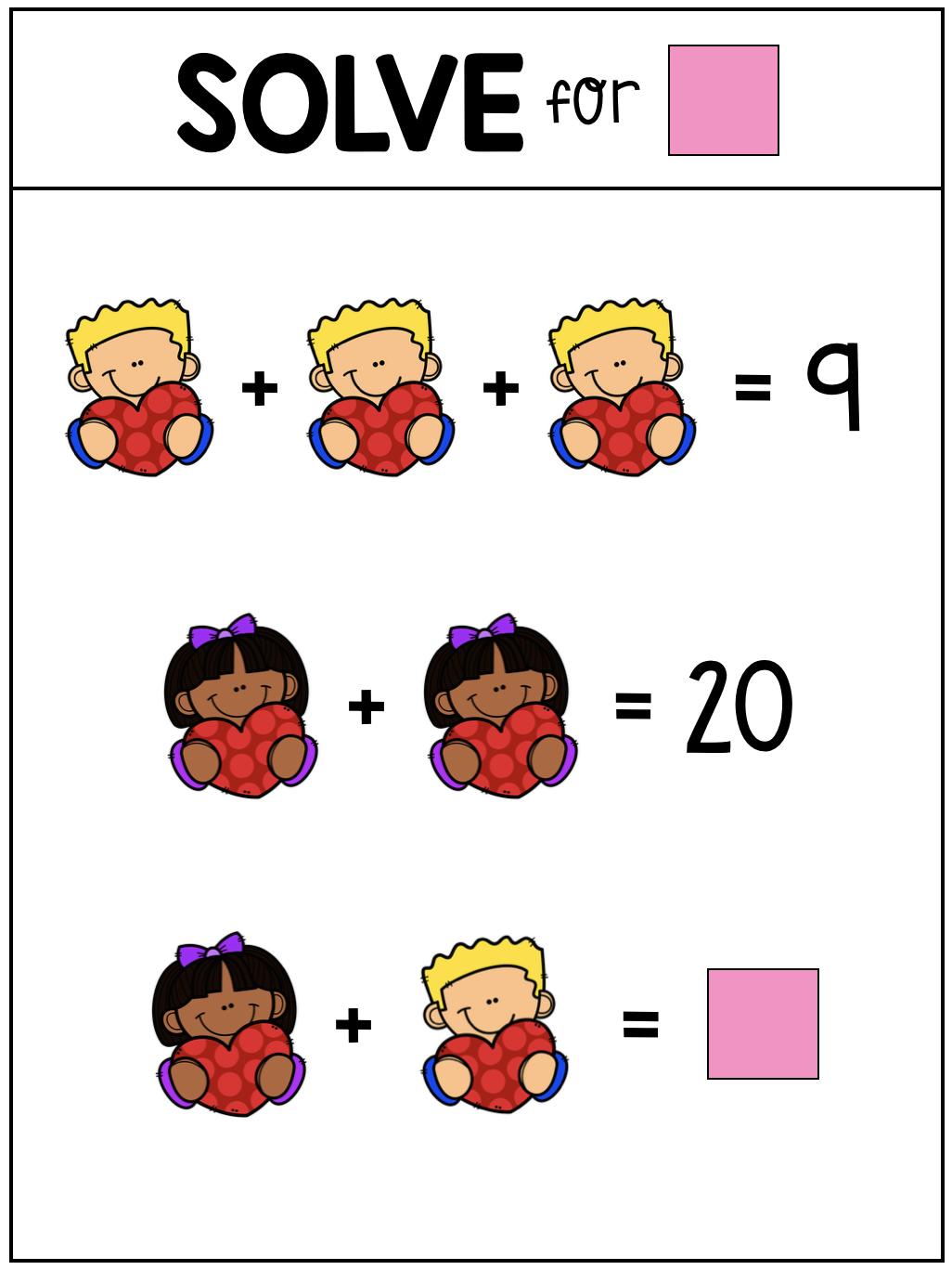 February Math February Math Solving Equations Math Workshop [ 1368 x 1026 Pixel ]
