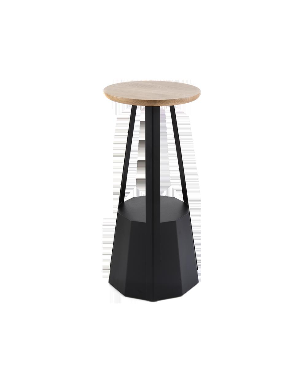 Excellent Dimensions Round Wooden Top Diam 35 Cm In Massive Oak Inzonedesignstudio Interior Chair Design Inzonedesignstudiocom