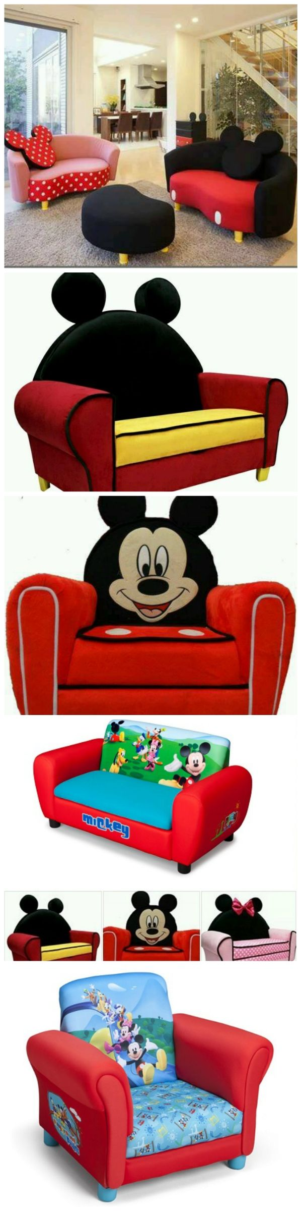 Awesome Mickey Mouse Sofa Disney Furniture Mickey Mouse Room