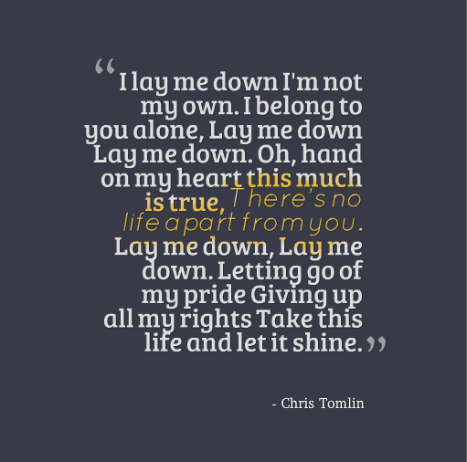 I M Not Giving Up On You Let It Shine