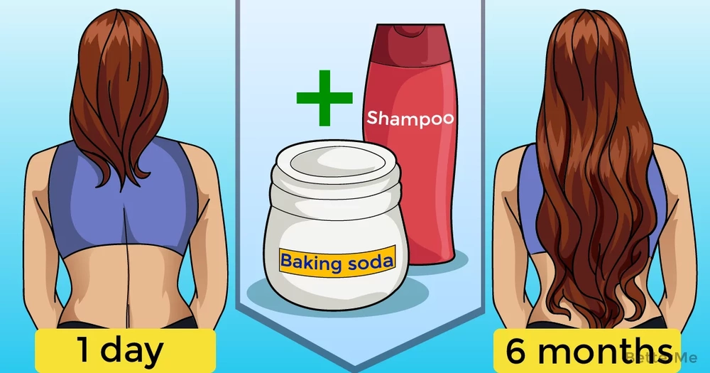 Is baking powder good for hair growth