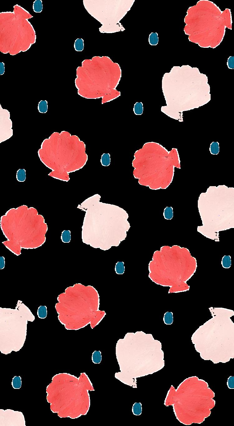 She Shells Png Pattern Wallpaper Phone Wallpaper Iphone Wallpaper