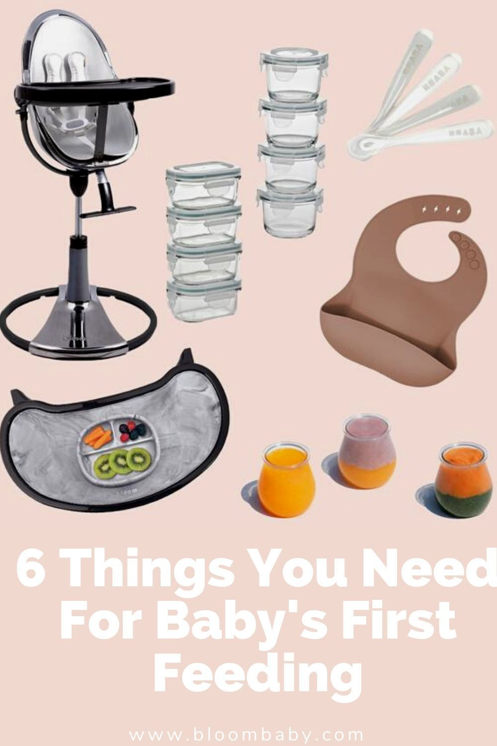 6 Things You Need For Baby S First Feeding In 2020 Baby Needs Best Baby Registry Minimalist Baby