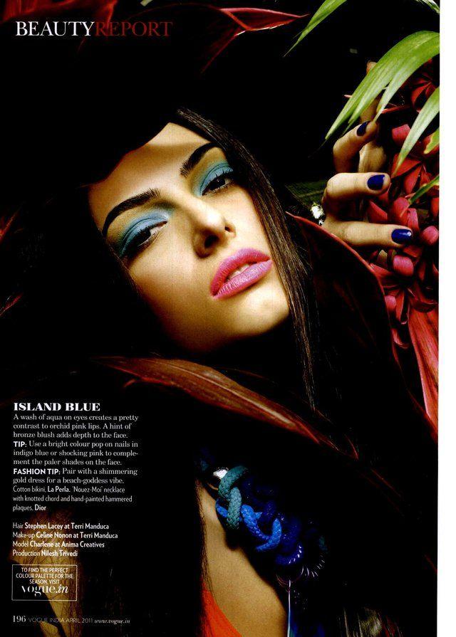 Vogue India Editorial Vogue Beauty Tropic Thunder, April 2011 Shot #5