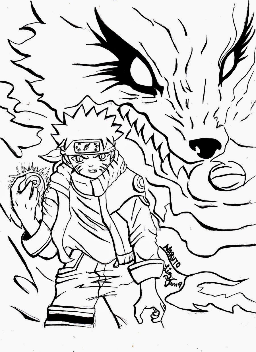 Desenhos Do Naruto Para Colorir Free Coloring Pages Naruto Coloring Pages