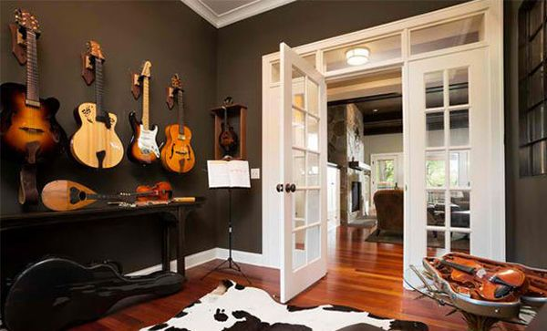 10 Cool And Modern Home Music Studios Home Music Rooms Music Room Design Music Room Decor