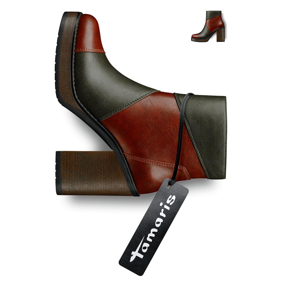 Tamaris Kolekcja Wiosna Lato 2016 Handmade Leather Shoes Boots Leather Shoes