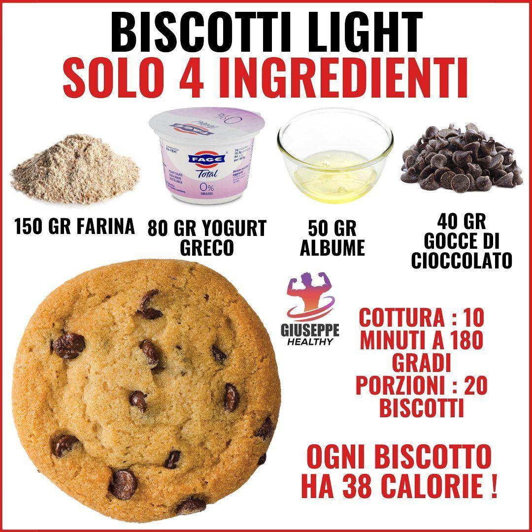"""Giuseppe Healthy on Instagram: """"SALVA LA RICETTA 👆 . Forse non esiste ricetta più semplice di questa, solo 4 ingredienti per ottenere dei biscotti (molto simili ai…"""""""