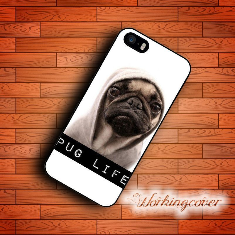 Pug Life Dog Case for iPhone