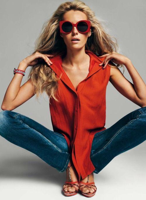 Valentina Zelyaeva by Gonzalo Machado for Harper's Bazaar España