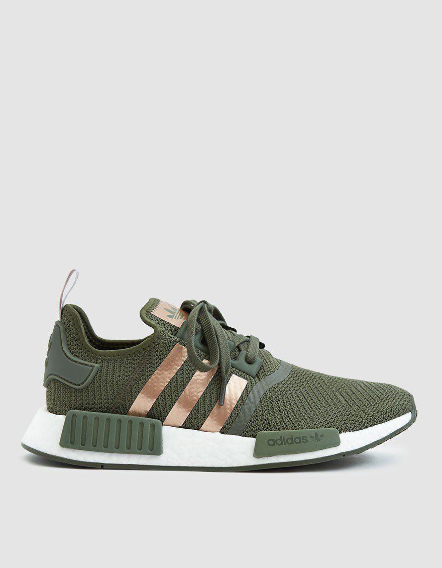 motor Útil seré fuerte  Adidas / NMD_R1 W Sneaker in Base Green | Trendy womens sneakers, Sneakers,  Womens sneakers