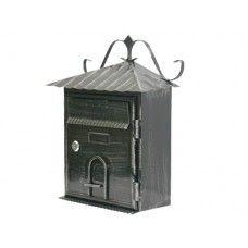 Cassette postali in ferro battuto Artfer  Lavorata a mano, verniciata in nero brunito, con serratura con chiusura a gancio. Dimensioni cm.:    L29xP14xH36 $22,08€