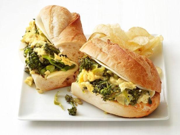 Egg and broccolini sandwiches recipe broccoli lunches and egg egg and broccolini sandwiches forumfinder Choice Image