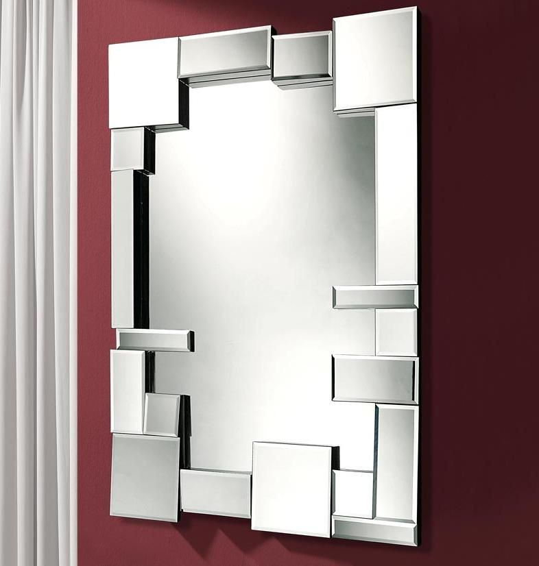 Miroir moderne en verre mod le dreams crystal d coration for Miroir moderne decoration