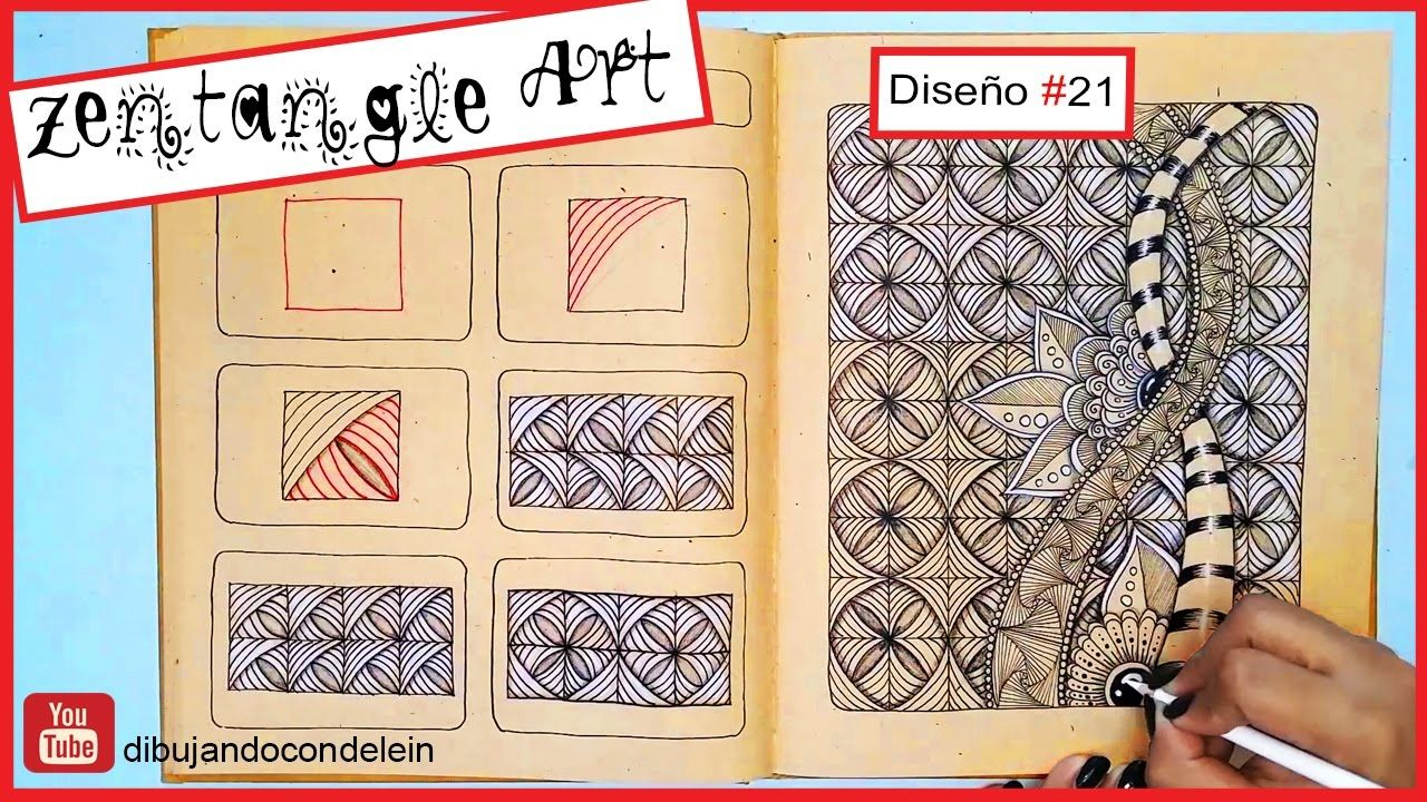 Como Dibujar Zentangle Art Paso A Paso 21 Zentangle Pattern Estampados Zentangle Zentangle Cómo Dibujar