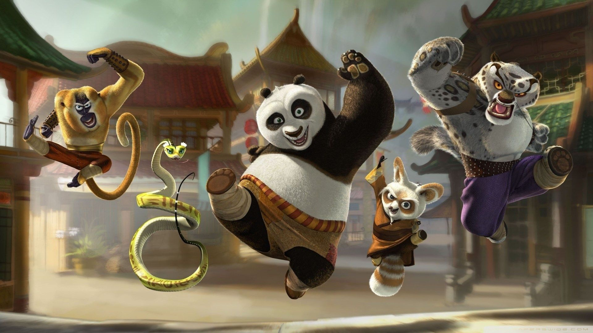 kung fu panda pic 1080p high quality, 331 kb - falkner black