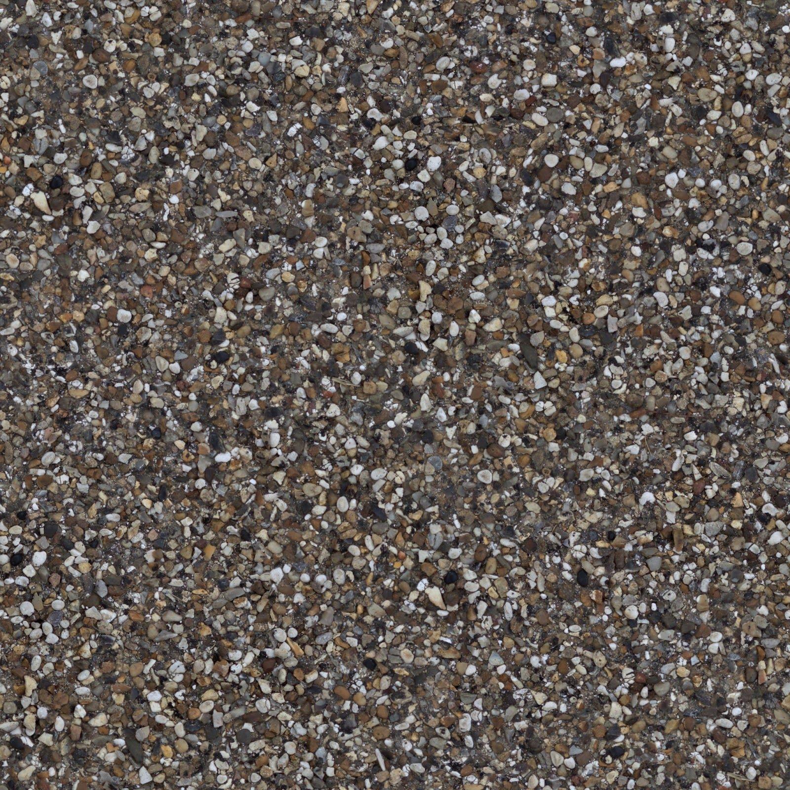 Pebblestone Cobble Ground Gravel Floor Walkway Seamless