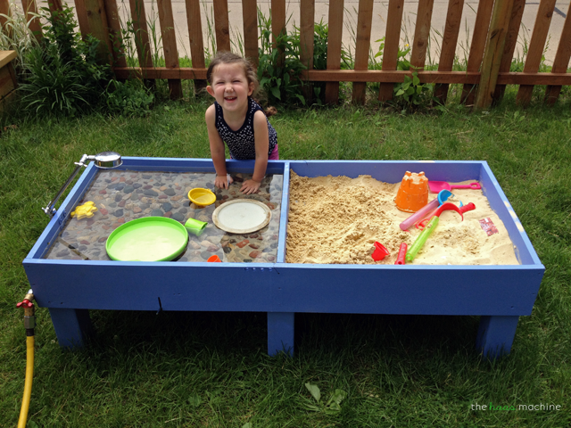 sand and water tables kids love backyard play spaces backyard play and water tables. Black Bedroom Furniture Sets. Home Design Ideas