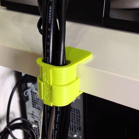 Cable clip (mit Bildern) 3d drucker vorlagen, 3d drucker