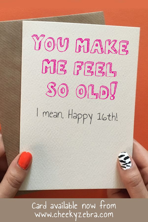 Funny 16th Birthday Card For Girls This Is Perfect Your Daughter