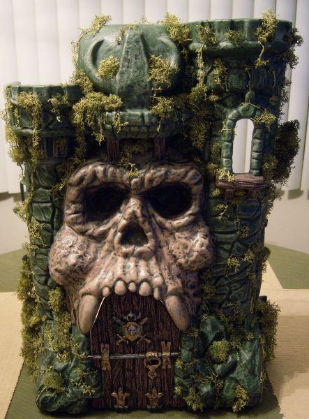 Castle Grayskull Custom Diorama Playset Motu
